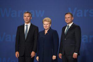 NATO šalių lyderiai nusprendė dislokuoti po batalioną Baltijos šalyse ir Lenkijoje