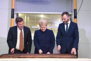 """""""Vilniaus duona"""" atidarė naują kepyklą"""