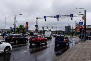 Šiaurės miestelyje – saugesnė sankryža