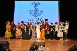 Kauno prekybos, pramonės ir amatų rūmų renginyje – ir Venecijos kaukių paradas