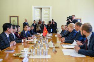 Lietuva stiprina bendradarbiavimą su Vietnamu