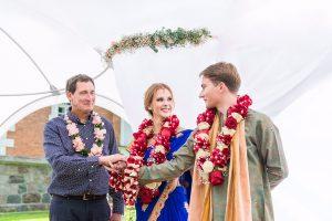 Šešuolėlių dvare – vestuvės pagal tūkstančių metų senovinį ritualą