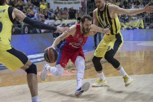 CSKA krepšininkai išplėšė pergalę Stambule