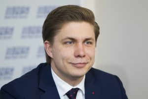 Ūkio ministras M. Sinkevičius: socdemai turėtų likti koalicijoje