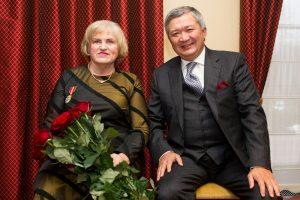 Ekspremjerei K. Prunskienei – Kazachstano valstybinis apdovanojimas