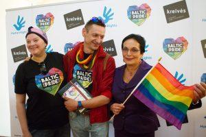 """Lydimas protesto prasidėjo gėjų festivalis """"Baltic Pride"""""""