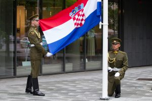 Vilniuje atidaryta Kroatijos ambasada