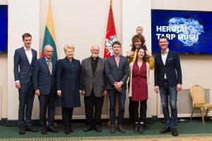 Prezidentė: būti herojumi – tai ir prisiimti atsakomybę už savo šalį