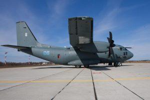 Donoro širdį iš Latvijos gabeno karinis lėktuvas