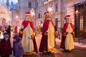 Trys karaliai skelbia kalėdinio laikotarpio pabaigą