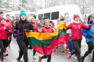 """Laisvės gynėjai pagerbiami tradiciniu bėgimu """"Gyvybės ir mirties keliu"""""""