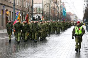 Minima kariuomenės reguliariųjų pajėgų kūrimosi pradžia