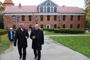 Gardino ir Kauno rajonai kartu gaivins LDK paveldą