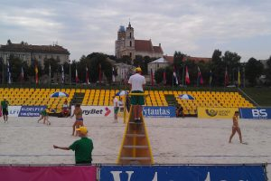 Vilniuje startuoja Rytų Europos paplūdimio tinklinio čempionatas