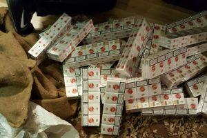 """Policija išaiškino dar vieną kontrabandos ir pilstuko """"tašką"""""""