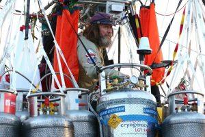 Rusijos oreivis pagerino skrydžio oro balionu rekordą