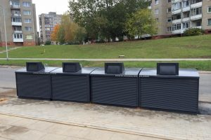 Moderniems konteineriams Klaipėdoje – žalia šviesa