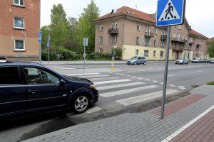 Pėstiesiems žada saugumą, vairuotojams – naujovių