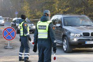Per Vėlines patruliuos sustiprintos policijos pajėgos