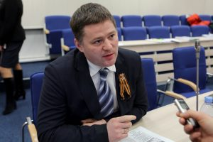 Klaipėdos politikas V. Titovas ketina vykti į Krymą