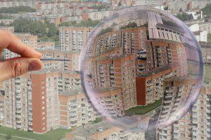 Nekilnojamojo turto rinkos burbulo nebus?