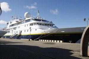 Klaipėdos uoste – prabangos ženklai