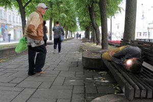Benamiai Kauno centre jaučiasi lyg namuose