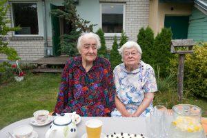90-mečių dvynių gyvenimo receptas – nesipykti