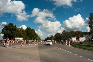 Kelių ir gatvių remontai pakaunėje įgauna pagreitį