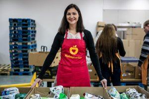 Nuo skurdo kauniečius gelbėja ir savanoriai
