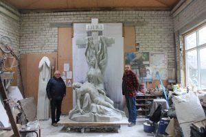 Aleksoto kapinėse atgims skulptūra žuvusiems kariams