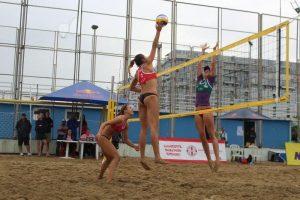 Lietuvos paplūdimio tinklininkės čempionate Gruzijoje – septintos