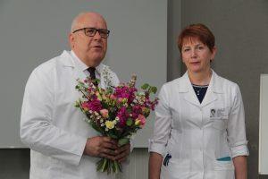 Klaipėdos jūrininkų ligoninės gydytojai – garbingas vardas