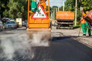Kiek per vasarą atnaujinta sostinės gatvių?