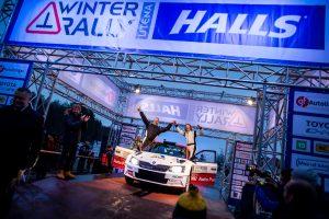 """Absoliutus """"Halls Winter Rally"""" nugalėtojas – D. Butvilas"""