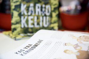 Moksleiviams – pirmoji knyga apie Lietuvos kariuomenę