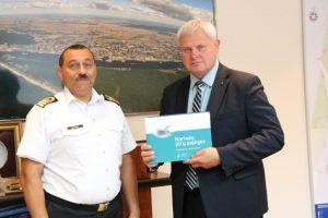 Karinių jūrų pajėgų 26-ųjų metinių proga padėkota už bendradarbiavimą