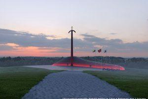 Šiemet Kryžkalnyje tikimasi baigti memorialą partizanams