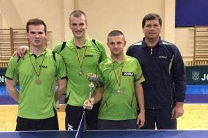 Savaitgalį vyko Baltijos šalių stalo teniso čempionatas