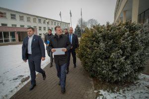 """Premjeras žadėjo padėti spręsti """"Achemos grupės"""" problemas"""