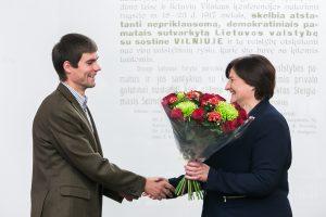 L. Graužinienė: didžiuojamės, kad Seime turime savo olimpietį