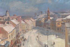 Nacionalinė dailės galerija kviečia pasivaikščioti po Vilnių