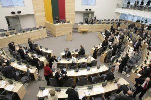 Parlamentarai darbo reikmėms jau išleido beveik 250 tūkst. eurų