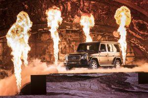 """Pristatytas naujas legendos modelis: G klasės """"Mercedes-Benz"""""""