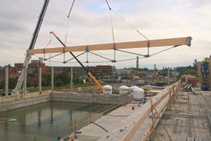 Naujajam Klaipėdos baseinui – išbandymas vandeniu