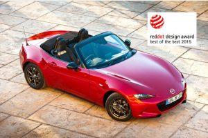 """Trys nauji """"Mazda"""" modeliai pelnė """"Red Dot"""" apdovanojimus"""