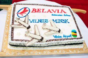 Pradėti skrydžiai tarp Minsko ir Vilniaus