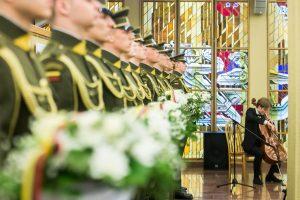 Pagerbtas Amžinybėn išėjusių Lietuvos Nepriklausomybės Akto signatarų atminimas
