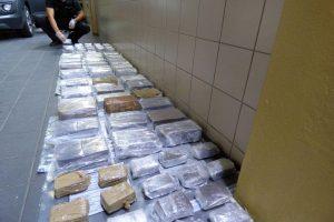 Narkotikų kelias į Rusiją: kriminalistai aptiko hašišo už 188 tūkst. eurų