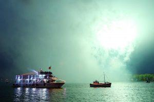Laivų parado organizatoriai: tokių fejerverkų Klaipėda dar nematė